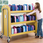 Double Lunch box Trolley